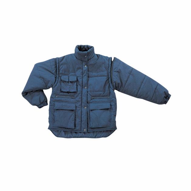 Zimska jakna Polena, može se koristiti kao prsluk jer ima rukave na skidanje.