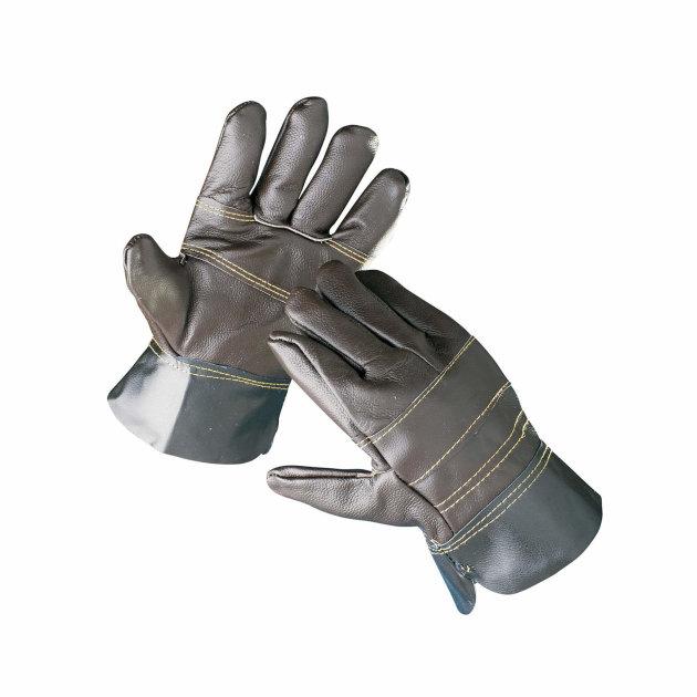 Zaštitne radne rukavice Francolin, štite ruke od mehaničkih rizika. U potpunosti kožne rukavice.