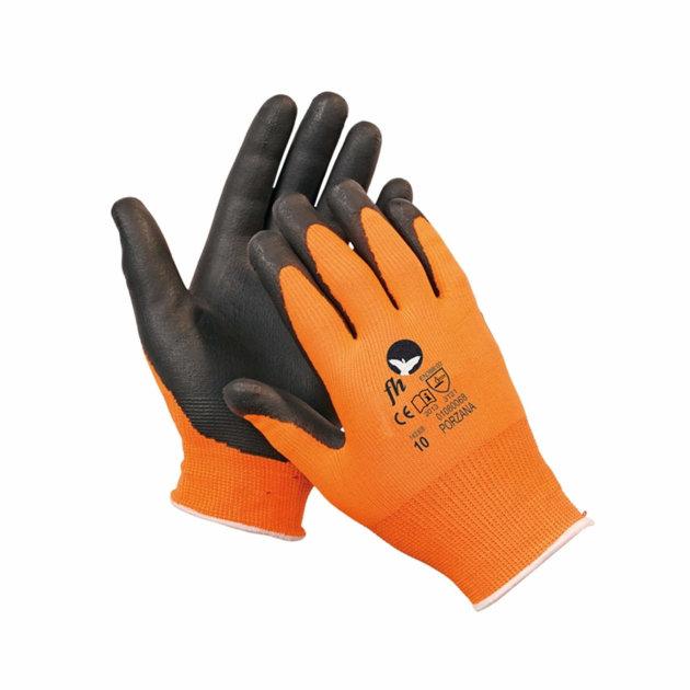 Pletene zaštitne bešavne najlonske rukavice pružaju zaštitu ruku od mehaničkih rizika.