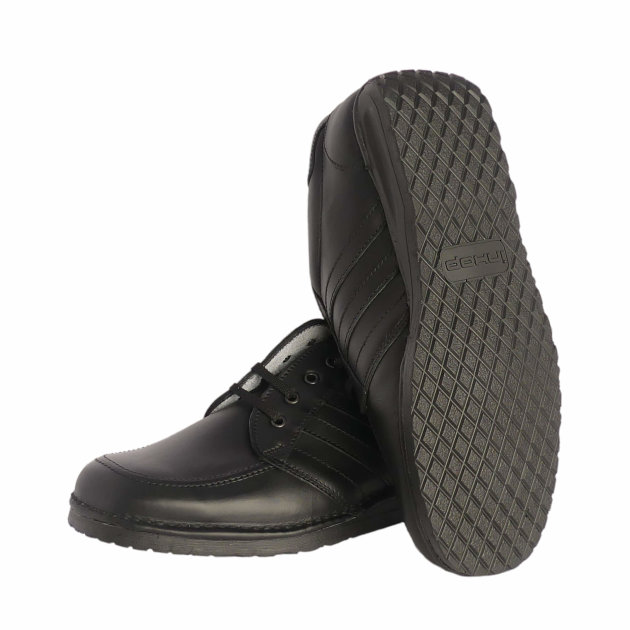 Firefighter Work Shoes Miami, high-quality classic style work shoe – black.