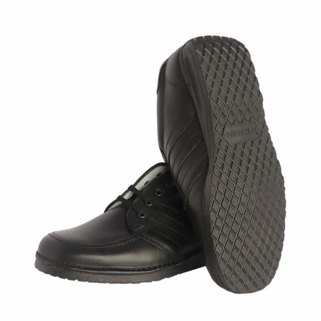 Radne cipele Miami za vatrogasce i civilnu zaštitu od hidrofobirane kože, sa udobnom podstavom od prirodne goveđe kože.