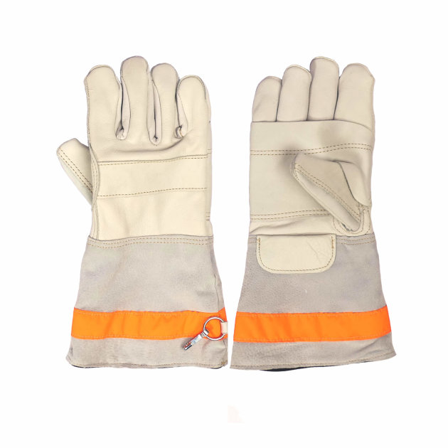 Fire leather gloves Boxer, for firefighting interventions.