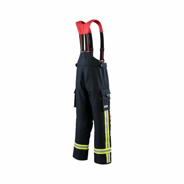 Zaštitne pantalone za vatrogasne intervencije, štite od toplinskih i raznih ostalih utjecaja.
