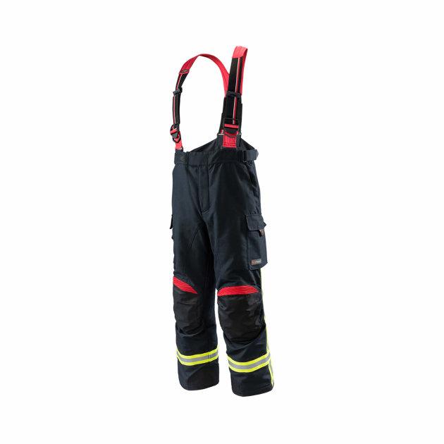 Zaštitne hlače za vatrogasne intervencije, štite od toplinskih i raznih ostalih utjecaja.