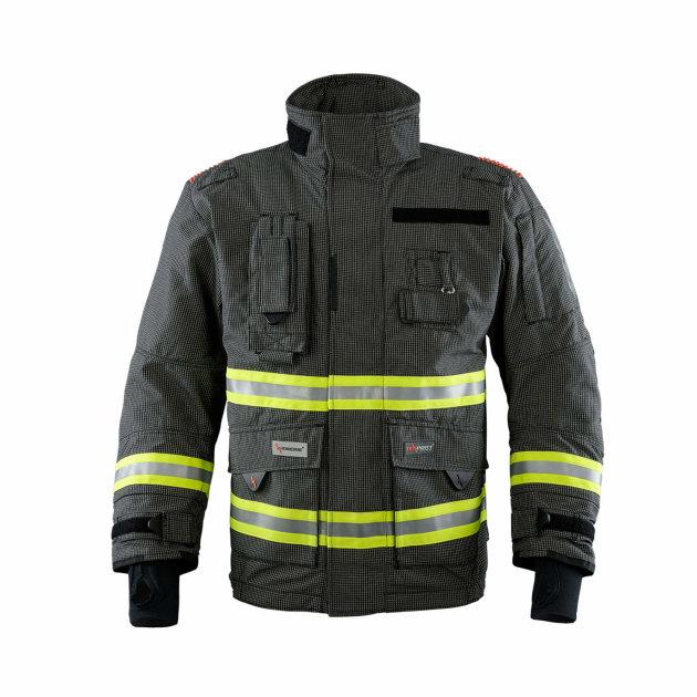 Vatrogasno interventno odijelo za gašenje strukturnih požara, Texport Fire Stretch, IB-TEX®, tamno plavo.