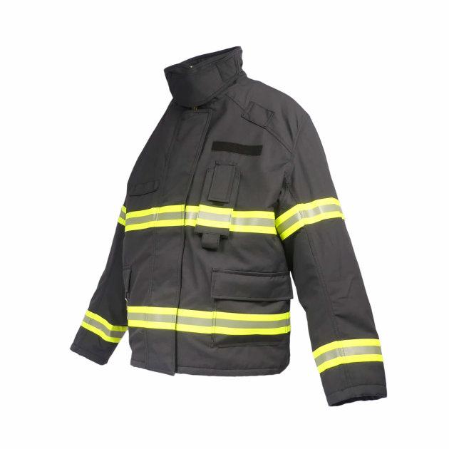 Vatrogasno interventno odijelo koje se sastoji od jakne i hlača. Profi Bas interventno vatrogasno odijelo.
