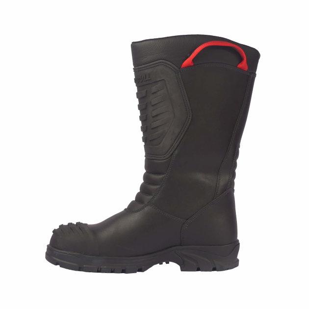 Gasilski škornji Brandbull Lucas, nepremočljivi, gasilski škornji z zaščitno alu kapico.