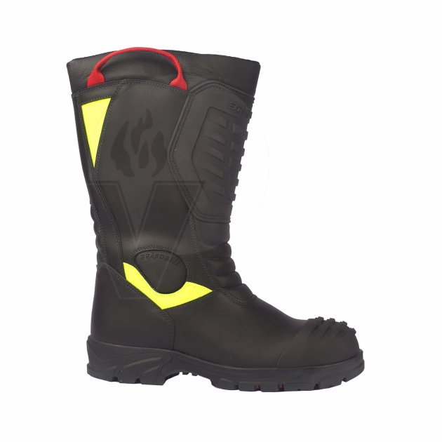 Firefighter Boots Lucas, certified to structural Fire Boot standard