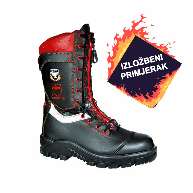 Intervention Fire Boots, antistatic and anti - slip, waterproof.