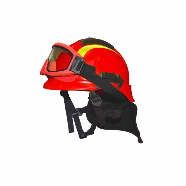 Firefighter helmet Tytan for forest fire fighting
