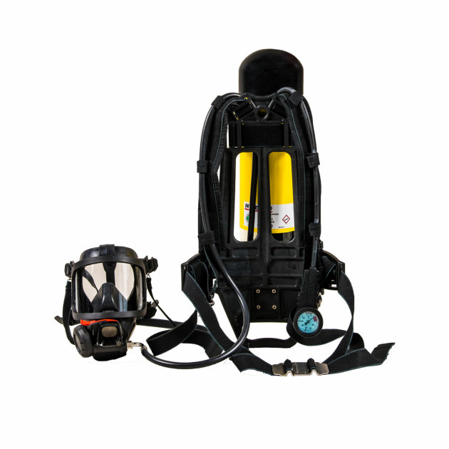 Breathing apparatus for firefighters Interspiro 90U