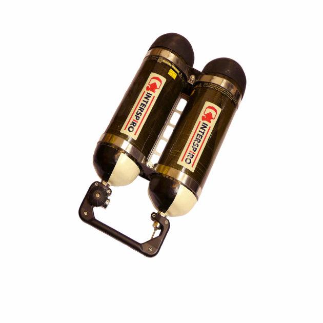 Boca za dišni aparat, komplet Spirolite Pack 326.7