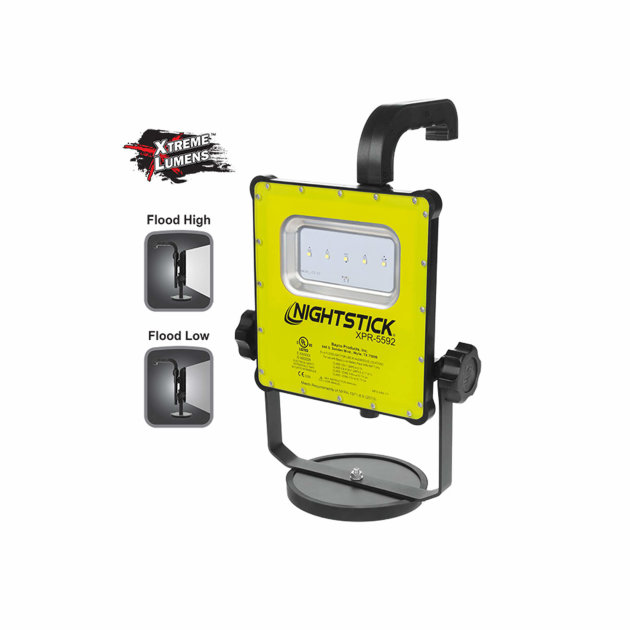 Firefighter Rechargeable LED Scene Light Kit Nightstick XPR-5592GCX Intrinsically Safe