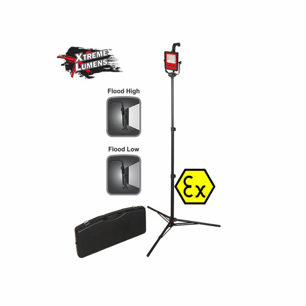 Firefighter Rechargeable LED Scene Light Kit Nightstick XPR-5590RCX Intrinsically Safe