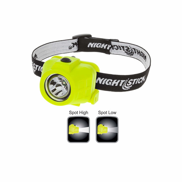 Intrinsically Safe Dual-Function Headlamp Nightstick XPP-5452G