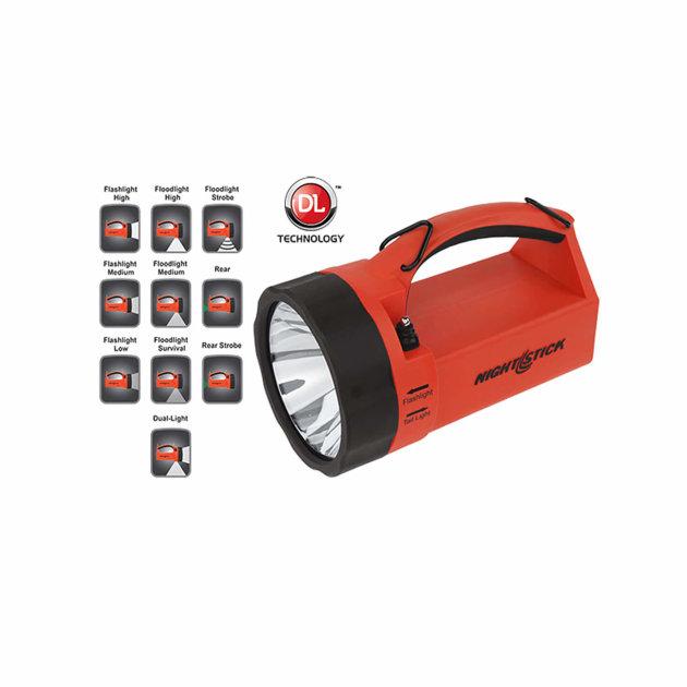 Svjetiljka ručni reflektor Nightstick XPR-5580R za vatrogasce, civilnu zaštitu i spasilačke službe