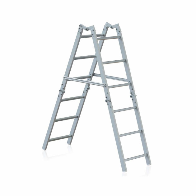Aluminium foldable ladders for firefighters