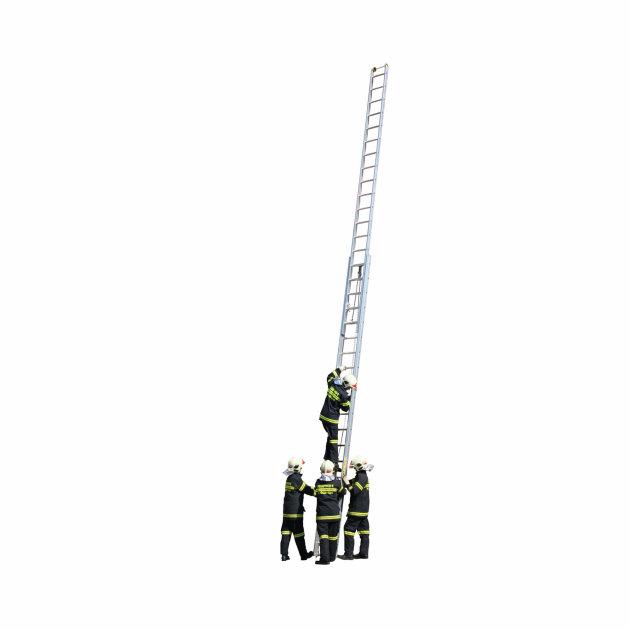 Vatrogasne aluminijske dvodijelne ljestve za intervencije