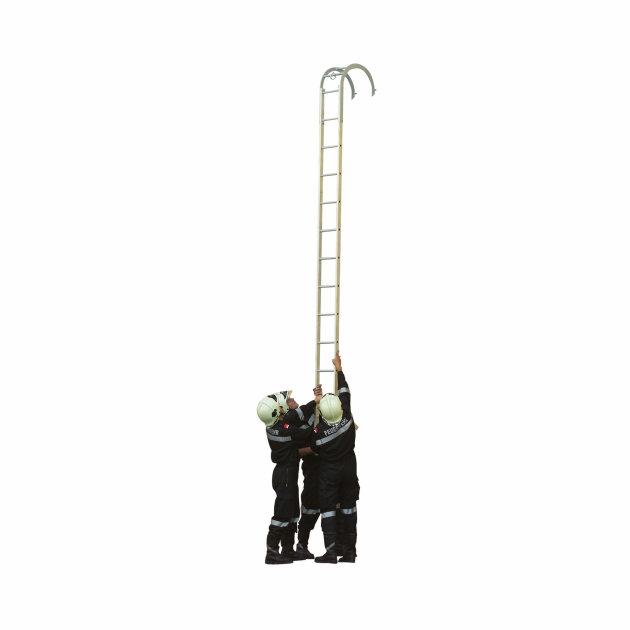 Aluminium Hook Ladders for Firefighters and rescue