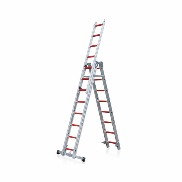 Aluminium Combination Ladders for firefighters and rescue missions