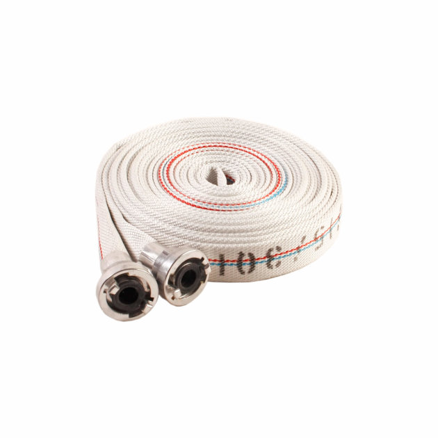Firefighting pressure hose 25 mm with couplings