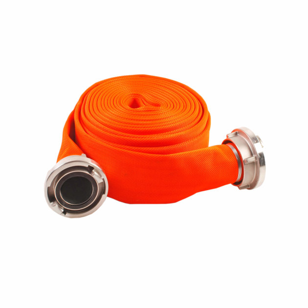 Fire hose, diameter 52 mm,used for firefighting, industry and agriculture