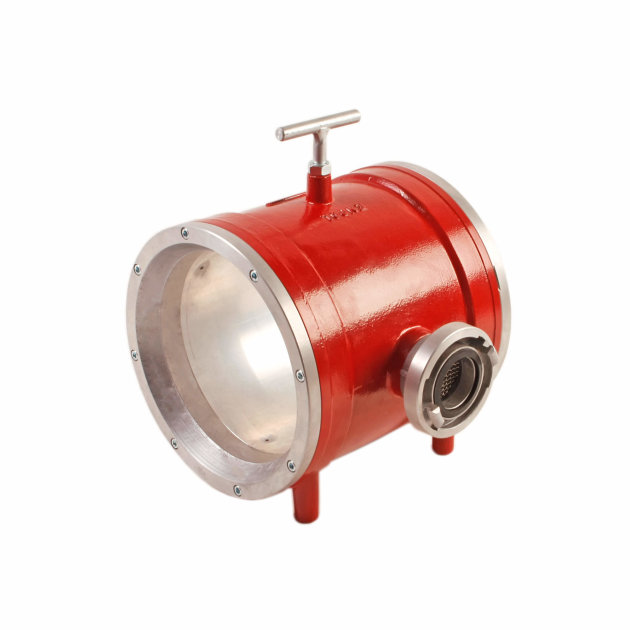 Device for Fire Hose Cleaning is used for fire hose weashing
