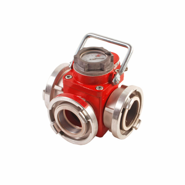 Hose Line pressure Limiting Valve, Seperate outlet for overflow water