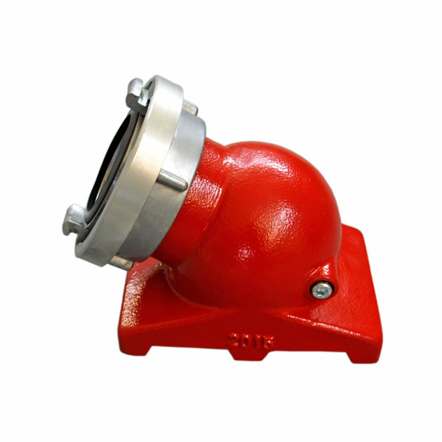 Fire Suction Strainer 75 mm Angled