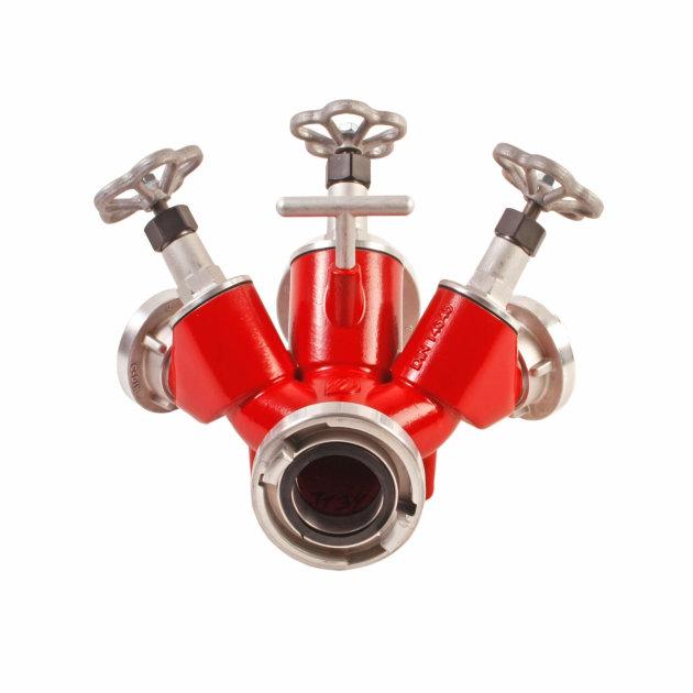 Fire Dividing Breeching B/B2C with valves