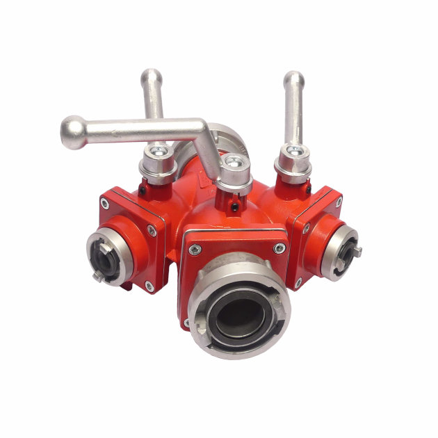 Fire Dividing Breeching C/C2D with ball valves