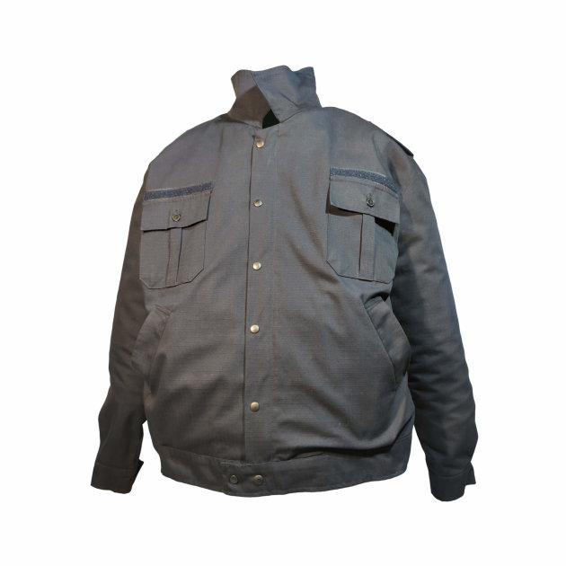Vatrogasno radno odijelo od tamno plavog RIPS materijala, 50 % pamuk, 50 % PES.