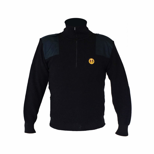 Work Pullover with Firefighter Emblem