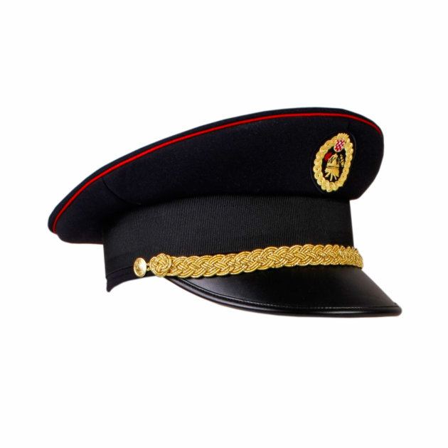 Formal Cap for Firefighters