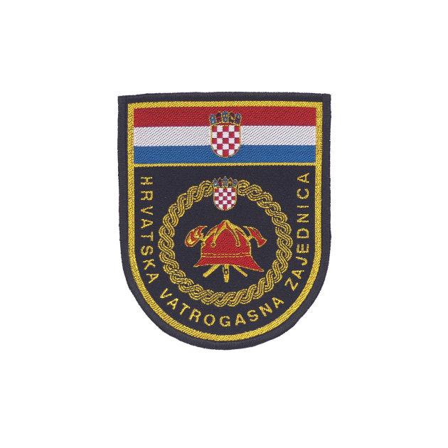 Amblem za rukav Hrvatska vatrogasna zajednica