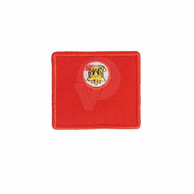 Vatrogasne oznake dužnosti za radno odijelo, Vatrogasac bez dužnosti