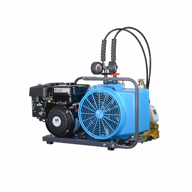 High-pressure Compressor Junior II, for loading of breathing air cylinders