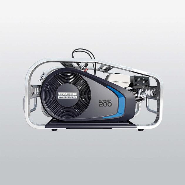 Mobile Compressor for breathing air Bauer Mariner 200