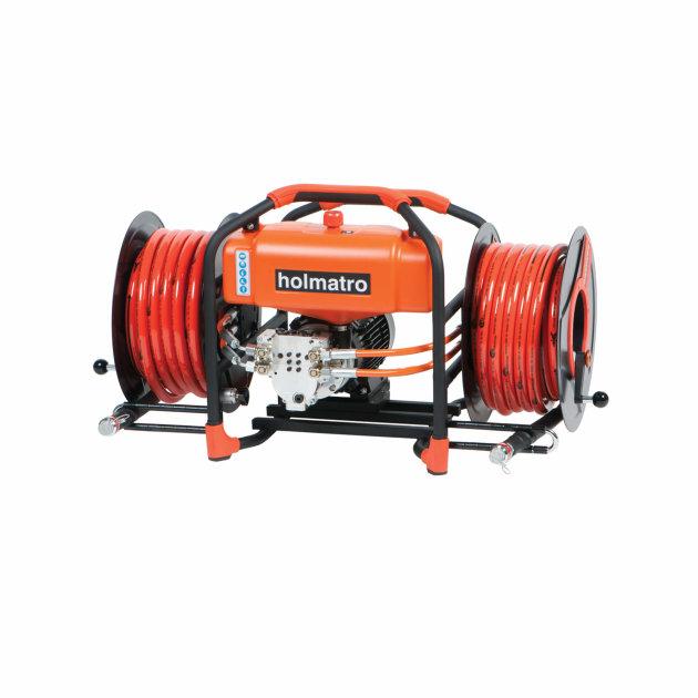Holmatro hidraulična elektromotorna pumpa SR 42 DC 2 Duo