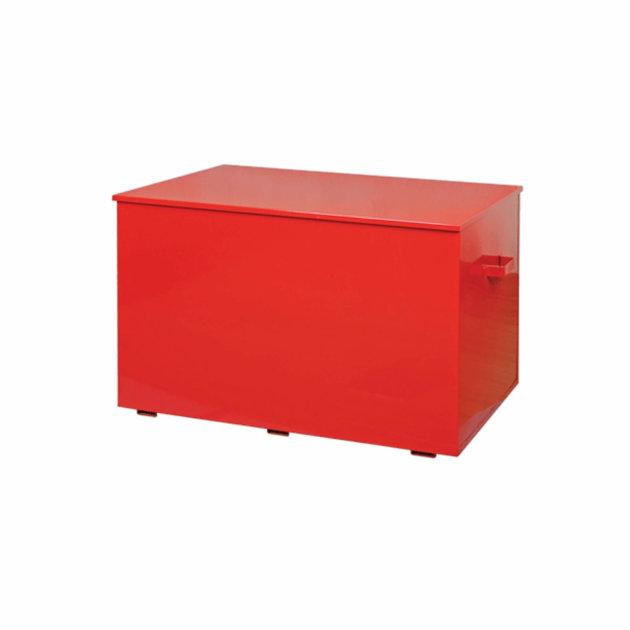 Sanduk za pijesak metalni, crvena boja