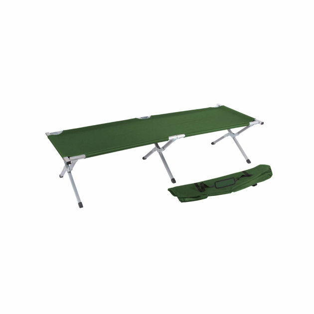 Aluminium Foldable Bed, for camping or civil protection