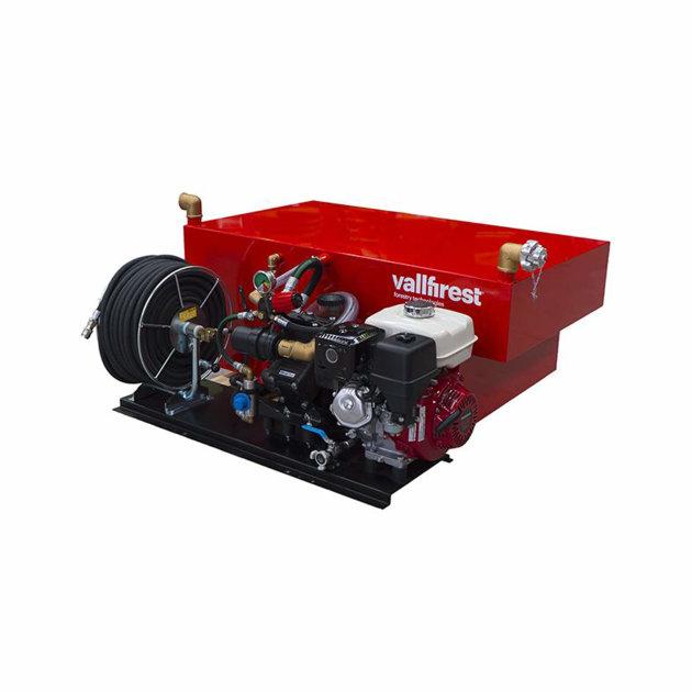 High pressure skid unit with Membrane Pump 50 bar Vallfirest