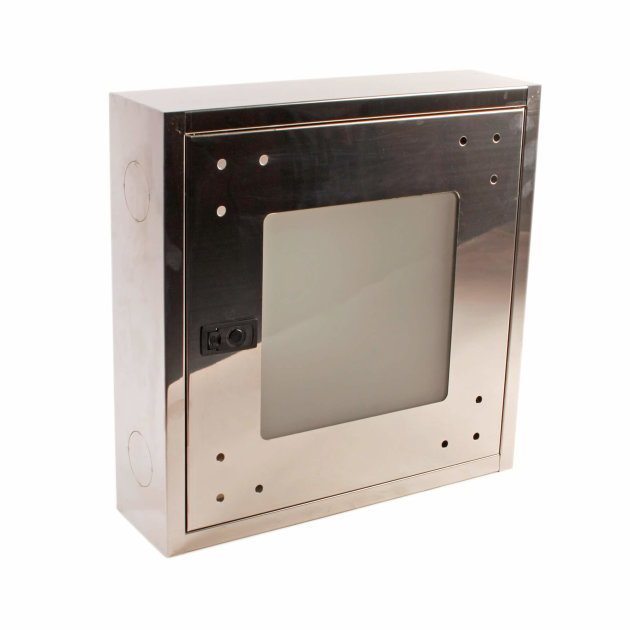 Hydrant Cabinet HO-2B stainless steel with glass window
