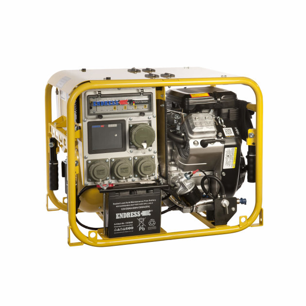 Endress Power Generator ESE 954 DBG ES DIN, for installation in fire-fighting and special vehicles