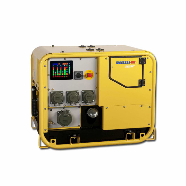 Endress agregat za struju ESE 607 DBG DIN Super Silent, za ugradnju u vatrogasna i specijalna vozila