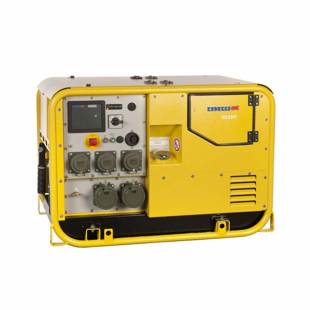 Endress agregat za struju ESE 1407 DBG ES DIN Super Silent, za ugradnju u vatrogasna i specijalna vozila