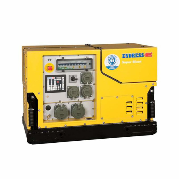 Endress Power Generator ESE 908 DBG ES DIN Super Silent Plus, for installation in fire-fighting and special vehicles