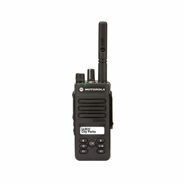 Portable Radio Station Motorola DP 2600e, for firefighters and other emergency services
