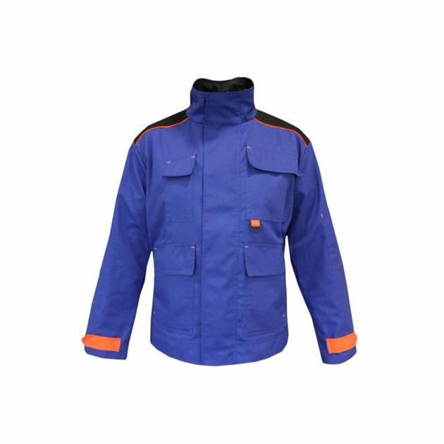 Radna jakna Spektar sa pet funkcionalnih džepova, royal plava boja