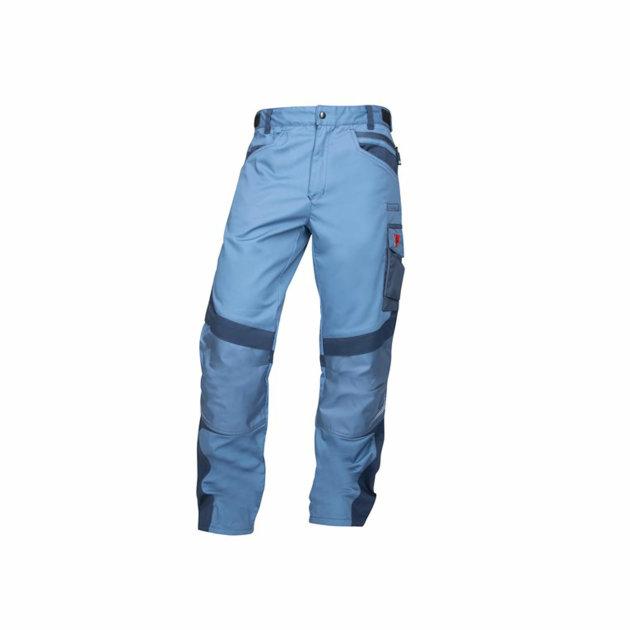 Radne hlače R8ED+, dodatno pojačanje na koljenima s džepom za štitinke za koljena, plave